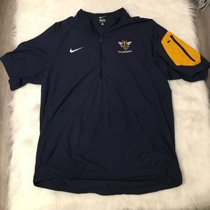 Nike Short Sleeve Yellowjackets 1/4 Track Jacket